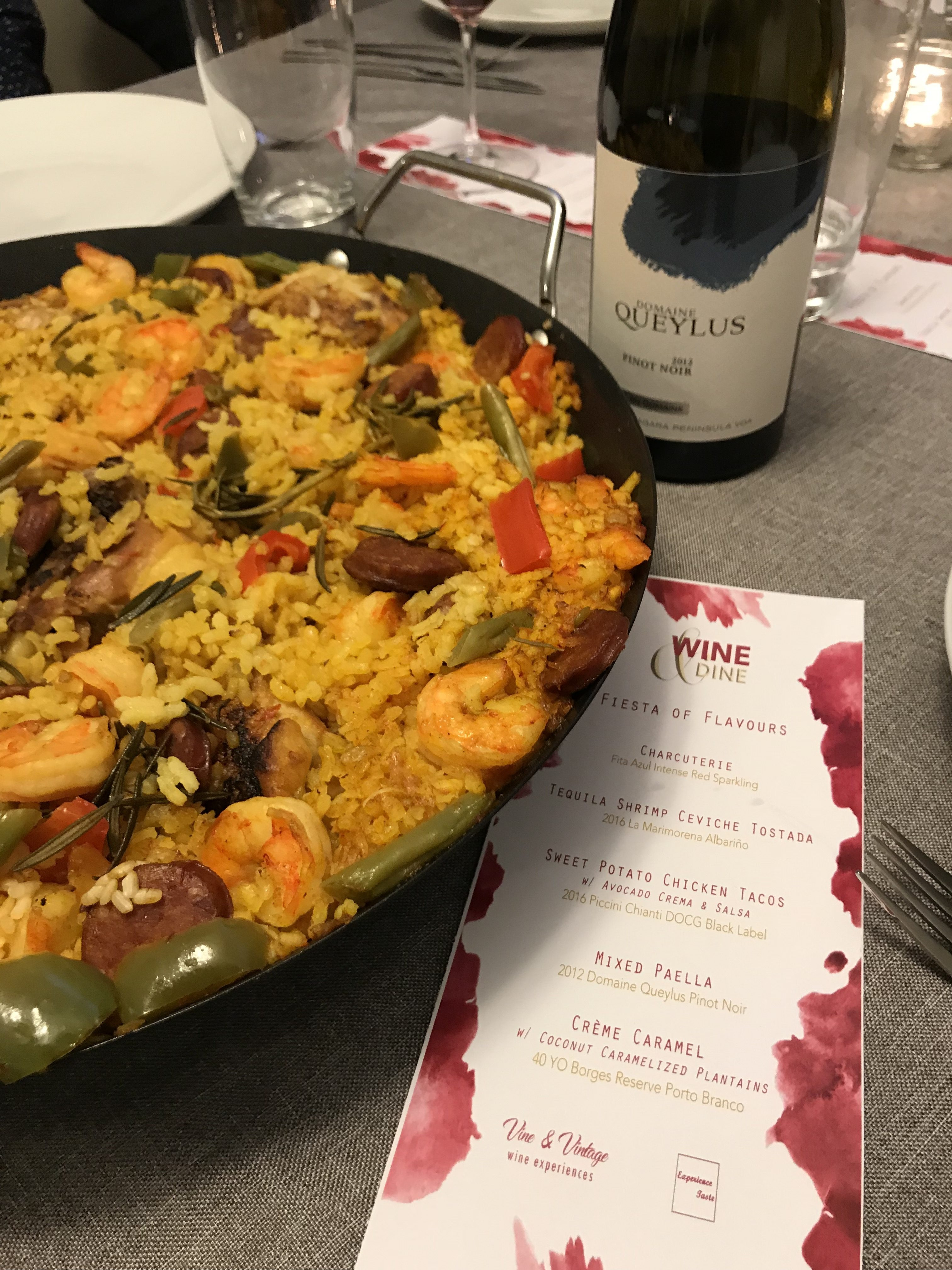 spanish food and wine